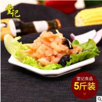 广东精品小吃 香嫩鱼香鸡丝2.5kg/袋 冷冻熟食产品 厂家直销批发