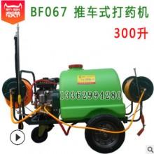 160升/300升 推车式打药机 打药车 汽油发动机带动动力喷药机