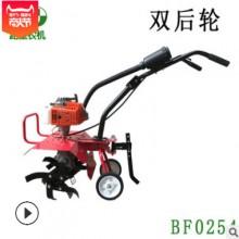 小型微耕机松土机除草机开沟机 轻便易搬运 垂直轴传动汽油四冲程