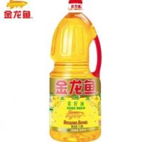 金龙鱼纯正菜籽油1.8L 非转基因物理压榨 食用油小瓶装家用煎炸油