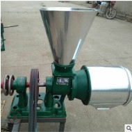 面粉机材质加厚型锥式磨 小麦磨粉机一次净 磨面机去麸皮细度好