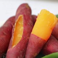 甜红薯农家迷你小果薯六鳌红蜜薯 山芋地瓜番薯5斤起包邮