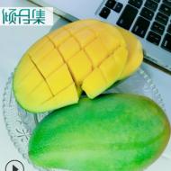 现货【越南进口甜心芒果5/9斤】小金煌芒大青芒果青皮芒 新鲜水果