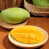 玉芒芒果5斤青皮芒果大多肉多汁香甜桃新鲜水果 一件代发批发包邮