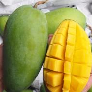 【现货速发】新鲜一级大青芒果10斤整箱青皮核小芒果包邮一件代发