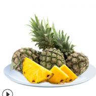 新鲜 泰国香水小菠萝 广西种植非金钻凤梨支持一件代发配菠萝刀