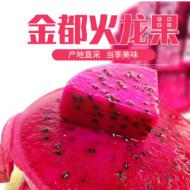 海南金都一号红心火龙果大红蜜宝新鲜水果非火龙果广西一件代发