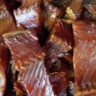 厂家专业生产 农家柴火烟熏腊鱼 腊草鱼块 湖南腊鱼块鱼干批发
