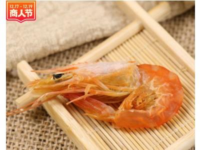 一品爽对虾干120g淡水无盐干货烤对虾海米虾米大号即食