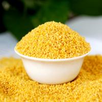谷生道黄小米加工 熟小米散装销售