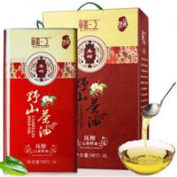 江西赣江茶油 山茶油5L铁桶红色款