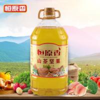 恒原香食用油5L浓香山茶坚果植物调和油压榨菜籽油植物油厂家直销