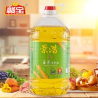 景浩玉米调和油5升食用油大豆油调和油OEM贴牌芝麻油厂家直销