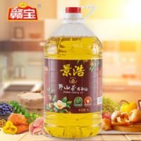 景浩茶油调和油5升食用油菜籽油调和油OEM贴牌 质量保证厂家直销