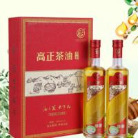 高正 原香纯正山茶油天然野生茶籽食用植物油婴儿500ml*2礼盒套装