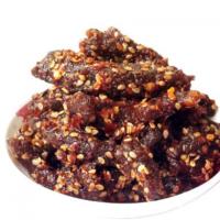 麻辣牛肉干牛肉条块四川成都特产香辣牛肉丝零食小吃牛肉粒100克