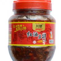 厂家直销 川骄郫县豆瓣四川特产川菜调味料红油豆瓣酱500g