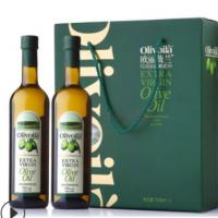 厂家批发两瓶礼盒装750ml*2瓶金龙鱼 欧丽薇兰特级初榨橄榄油