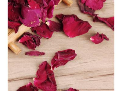 玫瑰花瓣 云南墨红玫瑰花茶食用玫瑰重瓣红玫瑰散装玫瑰花茶