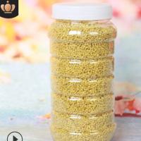 厂家供应新鲜蜂花粉油菜花粉非破壁高活性大颗粒无添加500g小瓶装
