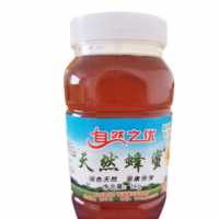 内蒙古枣花蜂蜜500g 自然之优农家自产枣花蜜1kg家庭装蜂蜜