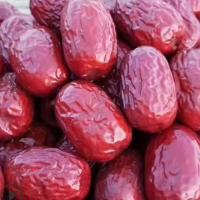 和田六星枣 和田玉新疆特产大红枣子 一级500g孕妇休闲干果和田贡