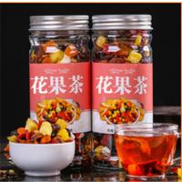 水果粒罐装组合花果茶 多种水果手工制造大瓶装 手工组合花果茶