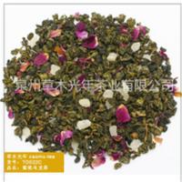 蜜桃乌龙茶 优质条形 果香调味茶 咖啡奶茶店原料 新式茶饮餐饮茶