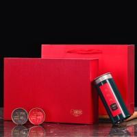 一罐茶武夷大红袍正岩肉桂茶叶礼盒装绿罐批发公司定制茶叶礼品茶