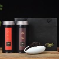 一罐茶武夷铁观音大红袍金骏眉茶叶礼盒装黑罐批发公司定制礼品茶
