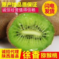 陕西绿心猕猴桃眉县徐香弥猴桃当季新鲜水果泥猴桃奇异果一件代发