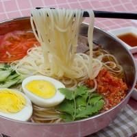 【10袋冷面送1袋辣白菜】 东北大妈朝鲜族冷面3包料 速食韩国冷面