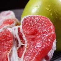 批发一件代发海南树上熟红心柚子整箱净重4.2-4.8斤/2个装包邮