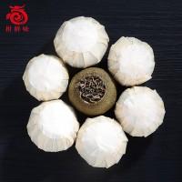 新会小青柑普洱茶 6年陈宫廷天马半生晒小青柑茶散装批发可代加工