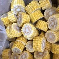 速冻农产品东北黄糯玉米段 甜糯玉米10kg/箱批发 速冻玉米段
