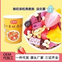 烘焙麦片 酸奶水果烘焙麦片原料 烘焙水果坚果麦片 烘焙燕麦脆粒