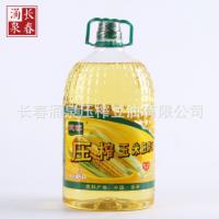 食用油玉米油5L桶装压榨油植物油批发