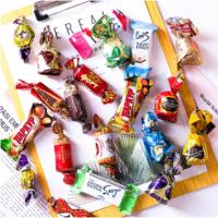 俄罗斯混合糖精品混装巧克力紫皮糖混批