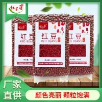2020年富硒红豆厂家直供大量批发颗粒饱满400克真空包装